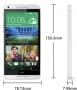 HTC Desire 816g dual sim EEA Gloss Gray